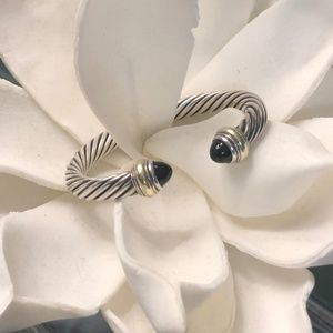 David Yurman Black Onyx Cable Bracelet